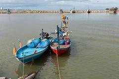 小船捕鱼泰国 图库摄影