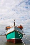 小船捕鱼泰国 库存图片