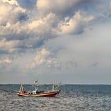 小船捕鱼泰国 库存照片