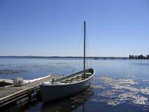 小船捕鲸船 免版税图库摄影