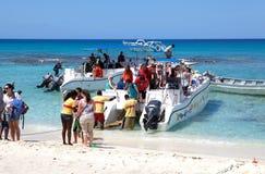 小船旅游catalina的海岛 免版税库存图片