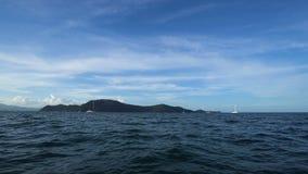 小船旅行到热带海岛,泰国 股票视频