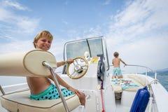 小船旅行 免版税库存图片