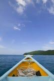 小船旅途 免版税库存图片