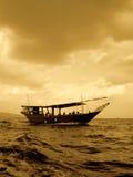 小船显示 免版税图库摄影