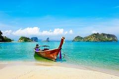 小船本机泰国 库存图片