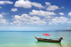 小船本机泰国 库存照片