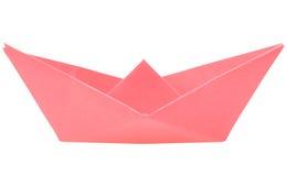 小船格式制造origami纸张模式向量 库存照片