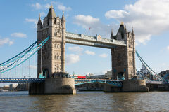 小船桥老伦敦 库存图片
