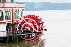 小船桨轮 库存照片