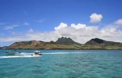 小船毛里求斯 免版税库存图片