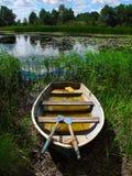 小船水 库存照片