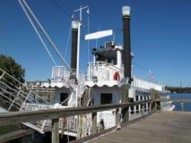 小船河susquehanna浏览 库存照片