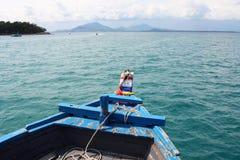 小船泰国浏览 免版税库存照片