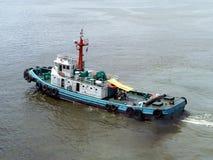 小船海运猛拉 图库摄影