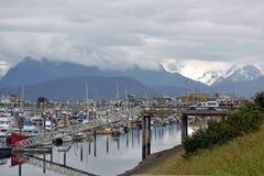 小船港口 免版税库存图片