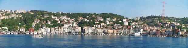 从小船游览的伊斯坦布尔 免版税库存照片