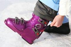 小船滑雪 免版税图库摄影