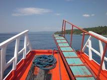 小船生活 免版税库存照片