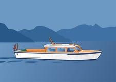 小船白色 免版税库存图片