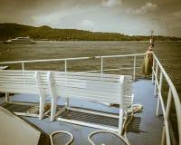 小船的前方 库存照片
