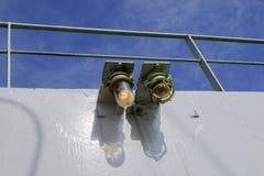 小船的烽火台 库存照片
