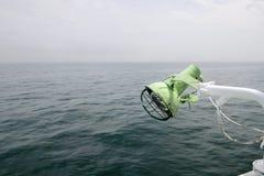 小船的烽火台 库存图片