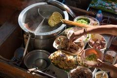小船的面条厨房 图库摄影