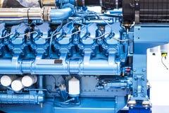 小船的柴油引擎 免版税库存图片
