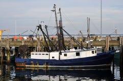小船码头捕鱼 库存照片