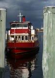 小船码头 免版税库存图片
