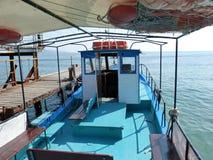小船码头威尼斯 库存照片