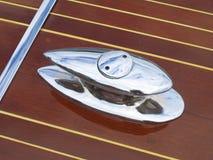 小船磁夹板详细资料 免版税库存照片
