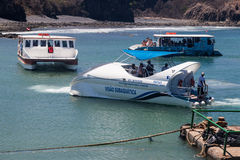 小船福纳多Noronha巴西 免版税库存图片