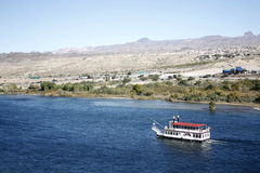 小船科罗拉多河 免版税库存图片