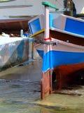 小船维修服务 库存照片