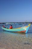 小船缅甸捕鱼 库存图片