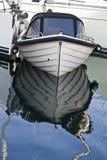 小船编译了粉煤渣 库存图片