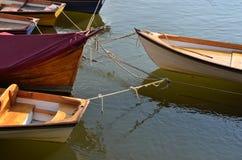 小船聘用 免版税图库摄影