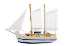 小船航行玩具 免版税库存照片