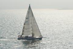 小船航行 图库摄影