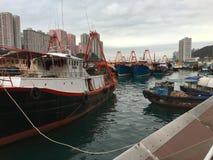 小船船坞(2) 库存图片