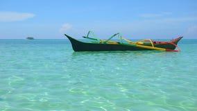 小船菲律宾 免版税图库摄影