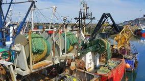 小船设备在Howth 免版税图库摄影