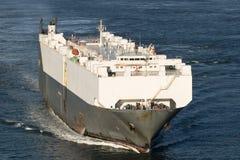 小船货物关闭 免版税库存图片