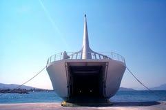 小船货物 免版税图库摄影