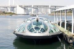 小船轮渡未来派东京 库存照片