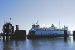 小船轮渡状态华盛顿 免版税库存照片