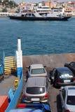 小船轮渡舷梯 免版税库存照片