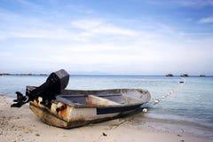小船速度 库存图片